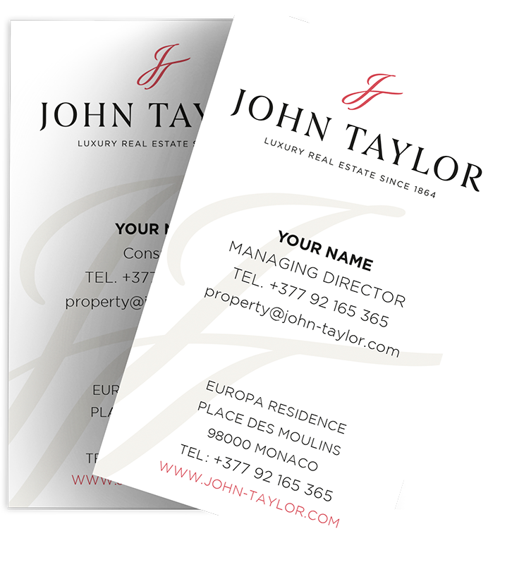 John Taylor Business Cards